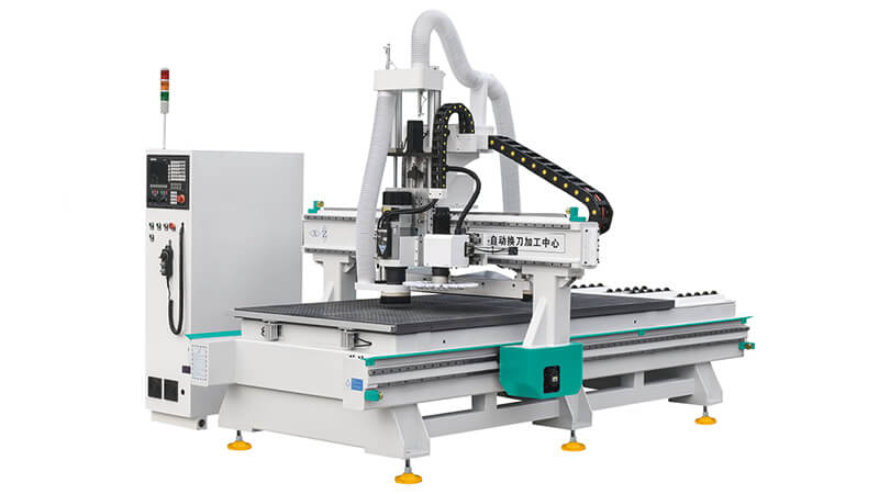 Woodworking Used CNC Router Machine with Disc Type ATC Spindle