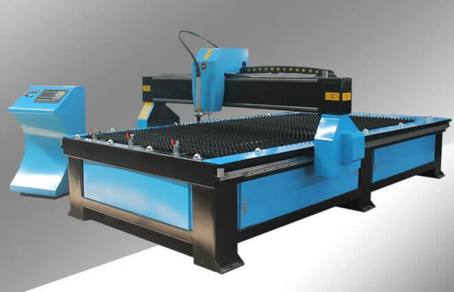 4x8ft CNC Plasma Cutting Table with Affordable Price