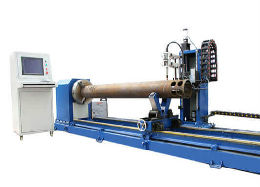 5 Axis CNC Plasma Pipe Bevel Cutting Machine For Sale