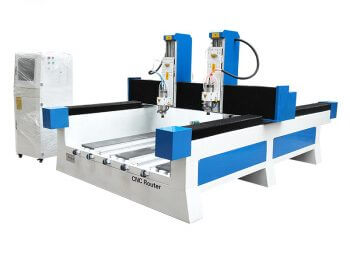 Double-spindle Stone CNC Carving Machine with Factory Price