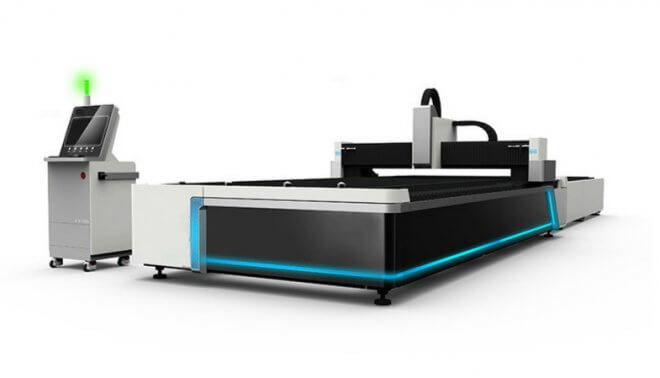 China Steel Plate And Tube CNC Fiber Laser Cutting Machine For Sale