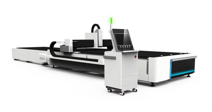 Exchange Table CNC Fiber Laser Cutting Machine For Sale