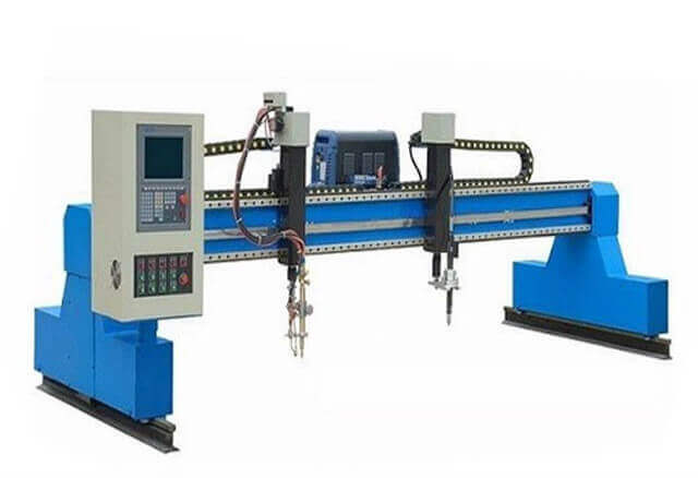 Automated CNC Flame and Plasma Profile Cutting Machine