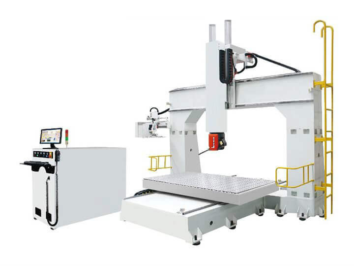Mould-making-used 5 Axis CNC Milling Machine For Sale With Best Price