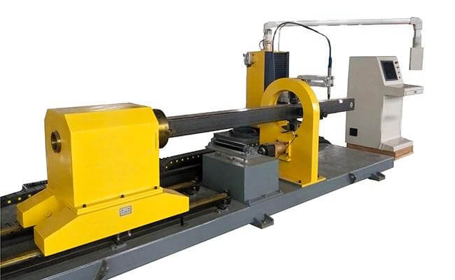 China Square/Rectangular Tube CNC Plasma Cutting Machine For Sale