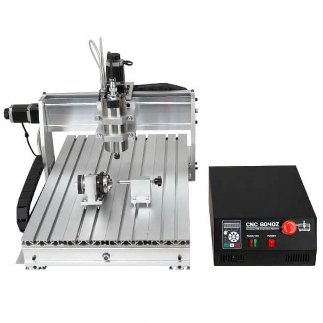 4 Axis Mini CNC Engraving Machine With Competitive Price For Sale
