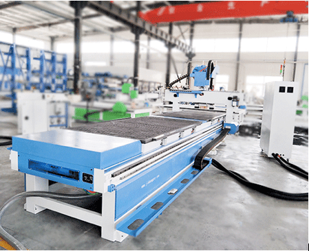 Double-station cnc router machine