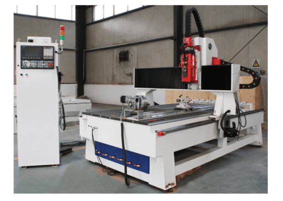 Spindle + drilling cnc router machine