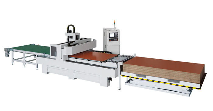 Auto Feeding CNC Router Machine Production Line For Panel Furniture