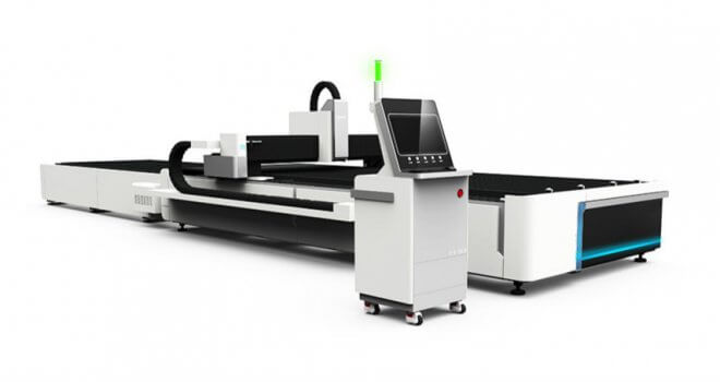 China Best Fiber Laser Steel Cutting Machine with Exchange Table